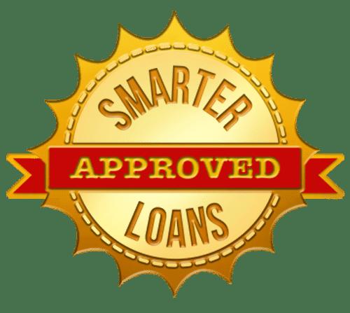 smarter loans approved badge